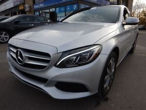 2015 Mercedes-Benz C-Class C300 4MATIC XENONS NAVI PANO-ROOF