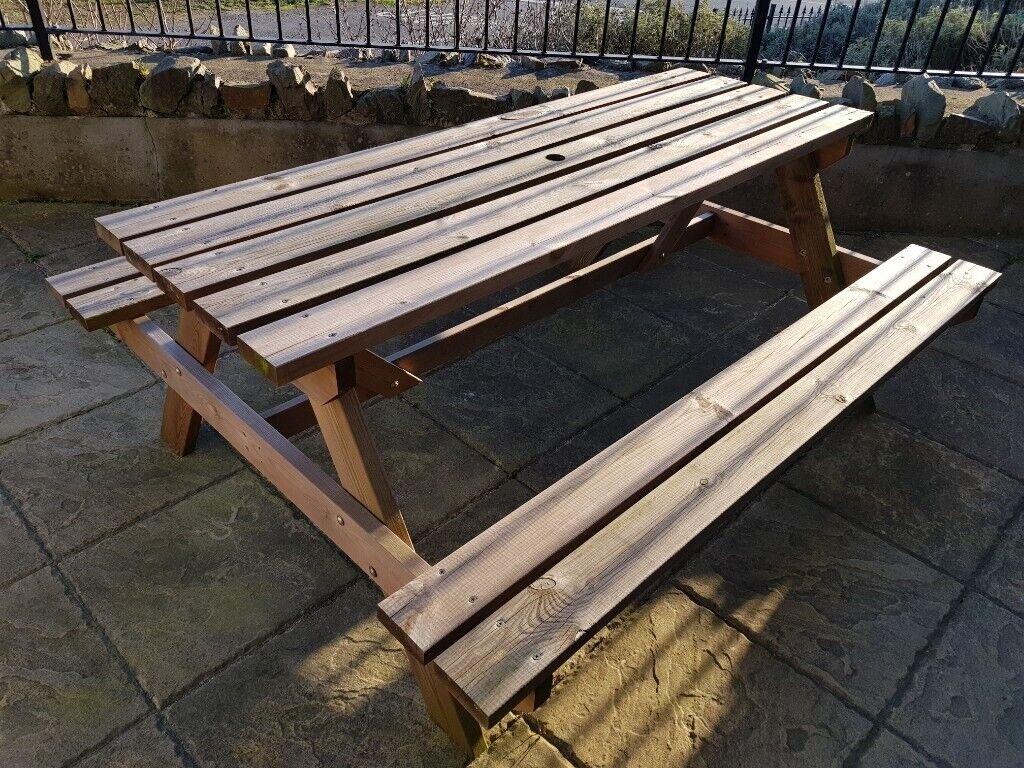 Garden table picnic bench newcastle