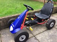 ORIGINAL KETTLER KETTCAR WITH INFLATABLE TYRES