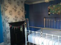 Bright furnished Large double room downstairs
