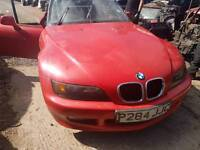 BMW Z3 hellrot red front bumper 1997