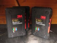 PROFESSIONAL VHS TAPE BOXES