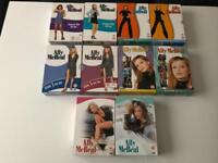 Ally McBeal DVDs 1-5 all seasons