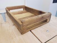 Reclaimed serving tray