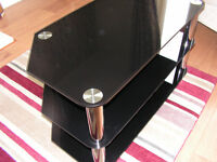 Solid built television table