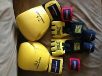 Boxing Gloves and Punching Bag Gloves