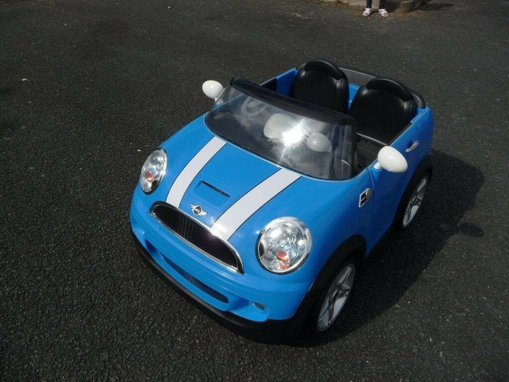 Kids Mini Cooper 2 Seater Car
