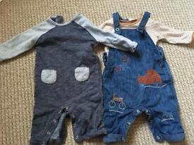 Baby Boys Next outfits 3-6 months