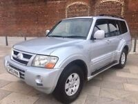 2003 MITSUBISHI SHOGUN DIESEL AUTOMATIC ++ FULL LEATHER ++ CD ++ AIR CON ++ DECEMBER MOT.