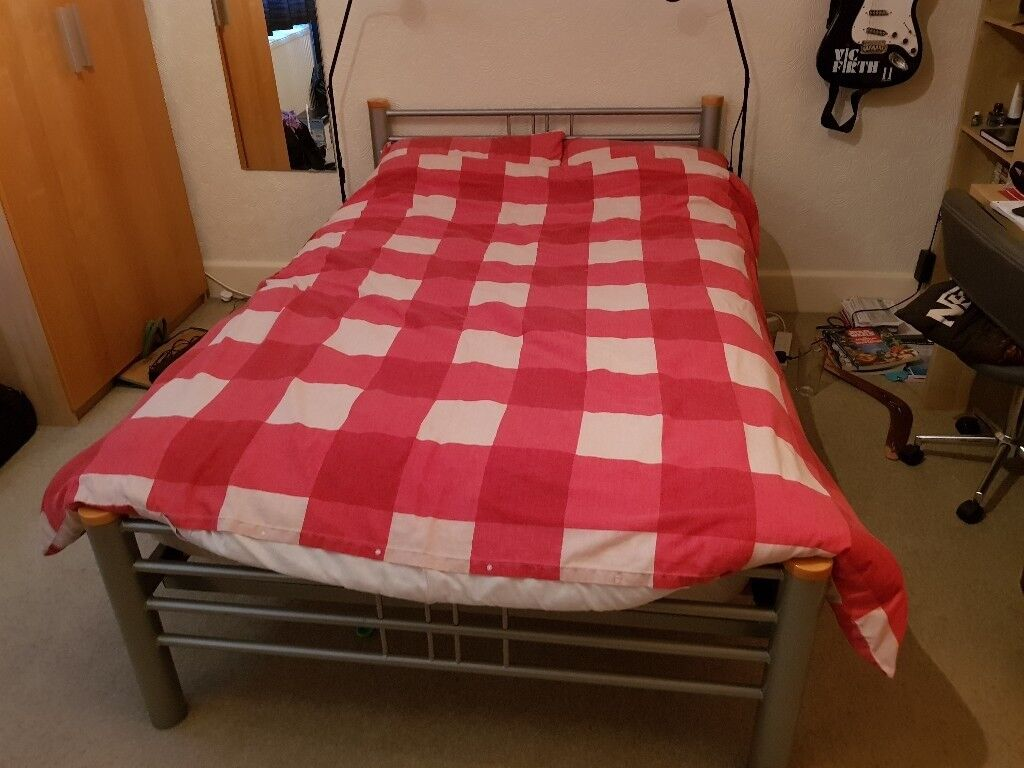 Three Quarter Bed Frame And Mattress In Sherwood Nottinghamshire