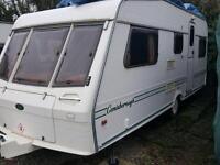 Consisborough 24ft touring caravan 5berth