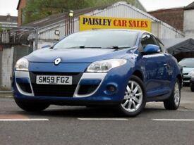 Renault Megane 1.6 16V 110 Expression 3dr (blue) 2009