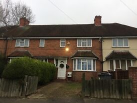 3 bed terrace house to let staverton Rd Whitley