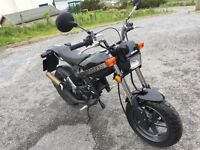 Suzuki Street Magic TR50 with factory fitted Taffspeed Racing complete performance conversion