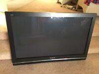 "Wall mounted 42""inch Panasonic TV"