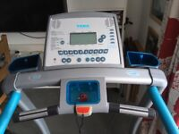 York T202 Motorised/Incline Treadmill