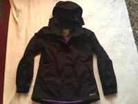 Gelert ladies Waterproof hoodies jacket full zipper size 10 used £4