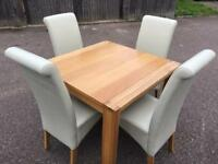 TABLE AND CHAIRS FROM JOHN LEWIS - ONLY £240