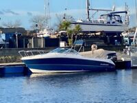 Karnic - 2050 Bluewater sports boat (with cabin, great for fishing, day boat and watersports)
