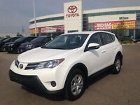 2014 Toyota RAV4 LE AWD, LOW kms, Toyota Certified