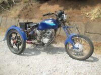 honda cg 125 trike runs and rides great project really well made good solid trike