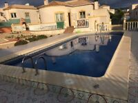 rent vila with private pool in spain Alicante area