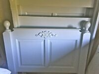Painted Solid Wood Single Bed