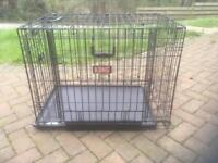 Medium Kong dog crate cage