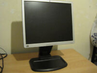 HP LCD monitor for sale