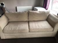 Next sofa, cuddle chair, arm chair and puffy REDUCED NEED GONE BY WEEKEND