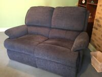 Life and Rise Recliner and Two Seater Settee by Mobility Furniture Co
