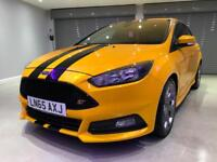 FORD FOCUS 2.0 ST-2 NAVIGATION 5d 247 BHP FREE DELIVERY TO YO (orange) 2015