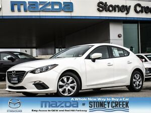 2015 Mazda MAZDA3 GX Manual Sport Push Start NEW RR Brakes Cruis