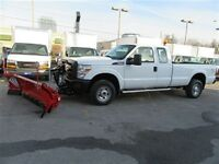 2012 Ford F-250 ext cab 4x4 gas long box with plow