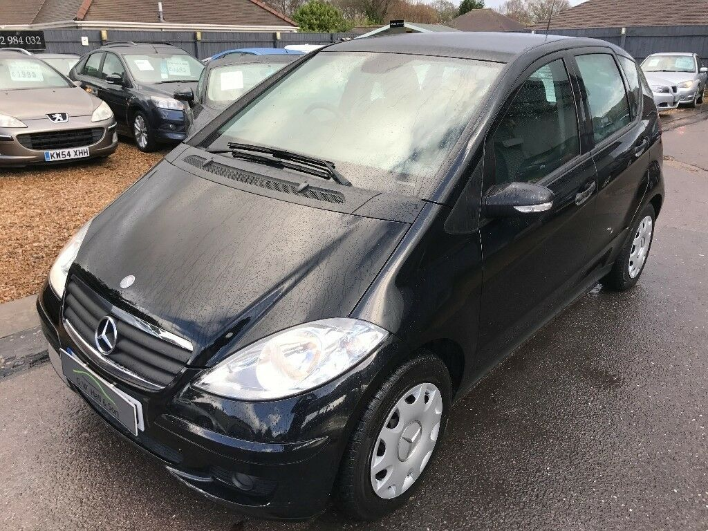 2006/06 MERCEDES -BENZ A CLASS 2.0 A 180 CDI CLASSIC SE 5DR BLACK,GREAT ECONOMY,LOOKS + DRIVES ...