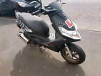 Generic xor 125cc .scooter .spare or repair.4000km on clock.2012y.