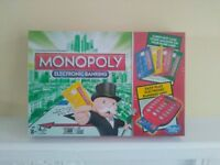 Monopoly Electronic Banking - brand new and unused, still factory sealed