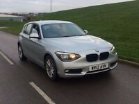 2012 BMW 1 SERIES 2.0 118d SE 5dr diesel***FACE LIFT**HIGH MILES*1 OWNER**NOT A GOLF A3