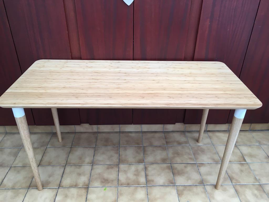 Immaculate ikea hilver desk table in somerset gumtree