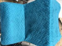 Turquoise Lycksele Havet Chair-bed