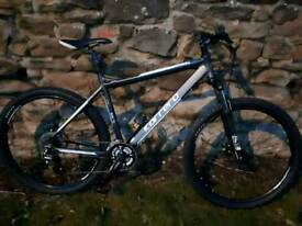 MENS CARRERA VENGEANCE 27.5ER DISC, USED ONCE SO BRAND NEW, SIZE LARGE, £160