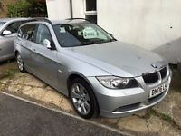 BMW 330D DIESEL ESTATE 2006 FULL BMW HISTORY 12STAMP RECENTLY SERVICED BY BMW 1YR MOT HEATED LEATHER