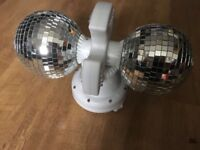 double rotating disco lights L