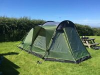 Tent 4 person Outwell 2 room, as new used 4 weeks, plus heaps of camping extras