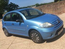 Citroen C3 desire 1.4 petrol low mileage with long mot cheap ideal first car