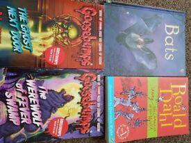Four older childrens books