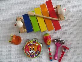 Preschool musical instruments bundle