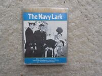 BBC radio classic comedy The Navy Lark cassete tape boxset batch