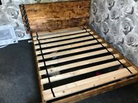 Hand crafted Double Bed