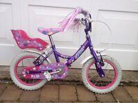 """Raleigh Krush 16"""" kids bike"""